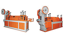 Wire straightening and cutting machine -